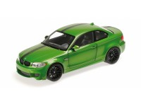 MODELLINO BMW 1ER M COUPE' 2011 JAVA GREEN IN METALLO MINICHAMPS