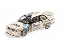 MODELLINO BMW M3 E30 TEAM ISERT DTM 1991 IN METALLO MINICHAMPS