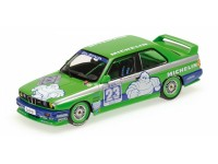 MODELLINO BMW M3 ALPINA PETER OBERNDORFER DTM 1988 IN METALLO MINICHAMPS