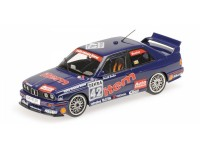 MODELLINO BMW M3 ITEM MAAS BMW HARALD BECKER DTM 1992 IN METALLO MINICHAMPS