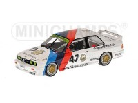 MODELLINO BMW M3 BMW M-TEAM LINDER VOGT HEGER WINNERS ZOLDER ETC 1987 IN METALLO MINICHAMPS