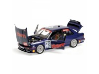 MODELLINO BMW M3 E30 AUTO MAASS BMW HARALD BECKER DTM 1992 IN METALLO MINICHAMPS