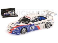 MODELLINO BMW M3 GTR BMW MOTORSPORT WINNER 24H ADAC 2004 IN METALLO MINICHAMPS