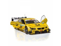 MODELLINO BMW M3 DTM TEAM MTEK TIMO GLOCK DTM 2013 IN METALLO MINICHAMPS