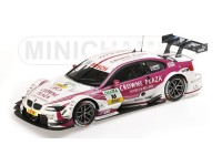 MODELLINO BMW M3 DTM TEAM RMG ANDY PRIAULX DTM 2013 IN METALLO MINICHAMPS