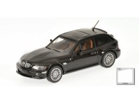 MODELLINO BMW Z3 COUPE' 1999 BLACK METALLIC IN METALLO MINICHAMPS