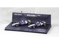 WILLIAMS MODELS BMW FW24 MALAYSIAN GP 2002 1-2 FINISH SET IN METAL MINICHAMPS