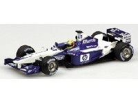 MODELLINO WILLIAMS BMW FW24 HP R. SCHUMACHER 2002 IN METALLO MINICHAMPS