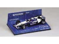 MODELLINO WILLIAMS F1 BMW FW23 J.P. MONTOYA 1ST GP WIN GP ITALY 2001 IN METALLO MINICHAMPS