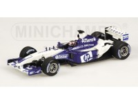 MODELLINO WILLIAMS F1 BMW FW25 J.P. MONTOYA 2003 IN METALLO MINICHAMPS