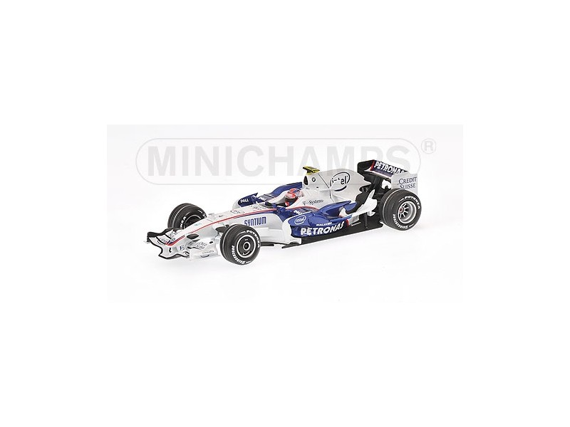 MODELLINO BMW SAUBER F1.08 R. KUBIKA WINNER GP CANADA 2008 IN METALLO MINICHAMPS
