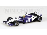 MODELLINO WILLIAMS F1 BMW FW25 R. SCHUMACHER 2003 IN METALLO MINICHAMPS