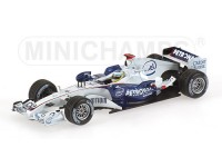 MODELLINO BMW SAUBER F1.06 N. HEIDFELD 1ST PODIUM HUNGARIAN GP 2006 IN METALLO MINICHAMPS