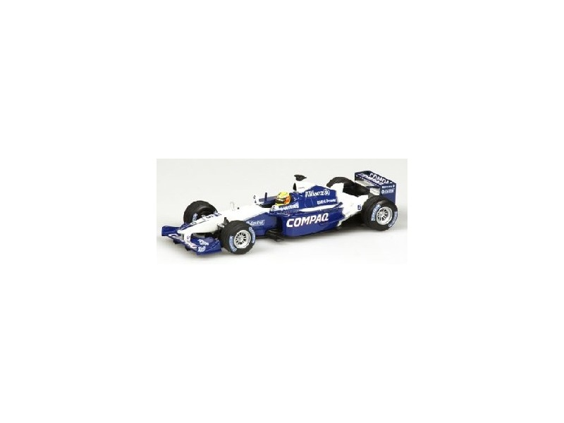 MODELLINO WILLIAMS BMW FW 23 R. SCHUMACHER 2001 IN METALLO MINICHAMPS