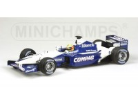 MODELLINO WILLIAMS BMW FW23 2001 R. SCHUMACHER IN METALLO MINICHAMPS