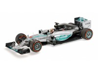 MODELLINO MERCEDES AMG W06 HYBRID L. HAMILTON WINNER JAPANESE GP 2015 IN METALLO MINICHAMPS