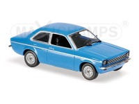 MODELLINO OPEL KADETT C 1974 BLUE IN METALLO MINICHAMPS