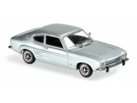 MODELLINO FORD CAPRI 1969 LIGHT BLUE METALLIC IN METALLO MINICHAMPS