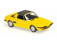 MODELLINO FIAT X1/9 1974 YELLOW IN METALLO MINICHAMPS