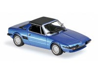 MODELLINO FIAT X1/9 1974 BLUE IN METALLO MINICHAMPS