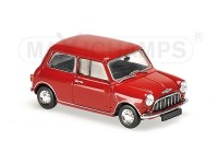 MODELLINO MORRIS MINI 850 MKI 1960 RED IN METALLO MINICHAMPS