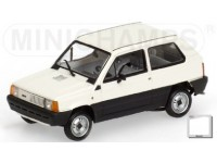 MODELLINO FIAT PANDA 34 WHITE 1980 IN METALLO MINICHAMPS