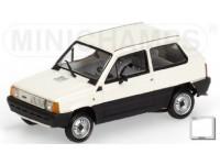 MODELLINO FIAT PANDA 34 WHITE 1980 IN METALLO MINICHAMPS