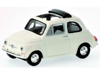 MODELLINO FIAT 500 WHITE 1968 IN METALLO MINICHAMPS