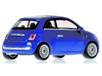 MODELLINO FIAT 500 BLUE METALLIC 2007 IN METALLO MINICHAMPS