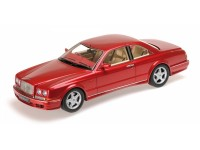 MODELLINO BENTLEY CONTINENTAL T 1996 RED METALLIC IN RESINA MINICHAMPS
