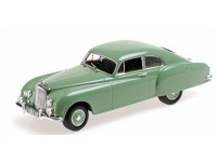 MODELLINO BENTLEY R TYPE CONTINENTAL 1955 GREEN IN METALLO MINICHAMPS