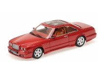 MODELLINO BENTLEY CONTINENTAL SC 1996 RED METALLIC IN METALLO MINICHAMPS