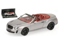 MODELLINO BENTLEY CONTINENTAL SUPERSPORTS CABRIO 2010 GREY IN METALLO MINICHAMPS