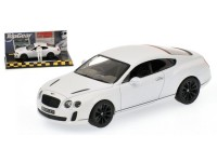 MODELLINO BENTLEY CONTINENTAL SUPERSPORT 2009 SATIN WHITE TOP GEAR IN METALLO MINICHAMPS