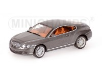 MODELLINO BENTLEY CONTINENTAL GT 2008 GREY METALLIC IN METALLO MINICHAMPS