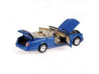 MODELLINO BENTLEY AZURE 2006 BLUE METALLIC IN METALLO MINICHAMPS