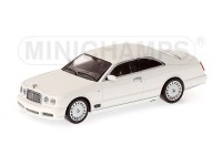 MODELLINO BENTLEY BROOKLANDS 2006 WHITE IN METALLO MINICHAMPS