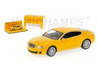 MODELLINO BENTLEY CONTINENTAL GT 2008 YELLOW IN METALLO MINICHAMPS
