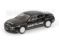 MODELLINO BENTLEY CONTINENTAL GT WORLD RECORD CAR ON ICE 2007 321 KM/H IN METALLO MINICHAMPS