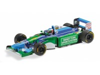 MODELLINO BENETTON FORD B194 MICHAEL SCHUMACHER WORLD CHAMPION 1994 IN METALLO MINICHAMPS