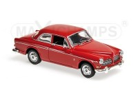 MODELLINO VOLVO 121 AMAZON 1966 DARK RED IN METALLO MINICHAMPS