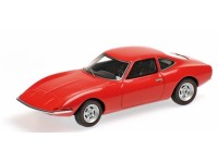 MODELLINO OPEL GT 1965 RED IN RESINA MINICHAMPS