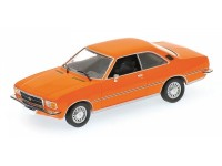 MODELLINO OPEL REKORD D COUPE' 1975 ORANGE IN METALLO MINICHAMPS
