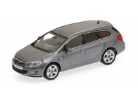MODELLINO OPEL ASTRA SPORTS TOURER 2010 GREY METALLIC IN METALLO MINICHAMPS