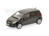 MODELLINO OPEL MERIVA 2010 BLACK IN METALLO MINICHAMPS
