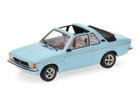 MODELLINO OPEL KADETT C AERO 1977 LIGHT BLUE IN METALLO MINICHAMPS