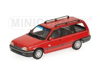 MODELLINO OPEL KADETT E CARAVAN 1989 RED IN METALLO MINICHAMPS