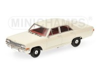 MODELLINO OPEL KAPITAN 1964 WHITE IN METALLO MINICHAMPS