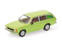MODELLINO OPEL KADETT C CARAVAN 1978 GREEN IN METALLO MINICHAMPS