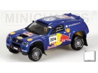 MODELLINO VOLKSWAGEN RACE TOUAREG PONS RALLY PARIGI DAKAR 2004 IN METALLO MINICHAMPS